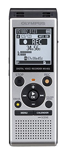 Olympus WS-852 Certified Refurbished Voice Recorder 4gb