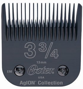 "OSTER DETACHABLE METAL CLIPPER BLADE SIZE4 3&3/4 SIZE 1/2"" FOR OSTER 76,TITAN,& TURBO 77 ( equivalent plastic size 4)"