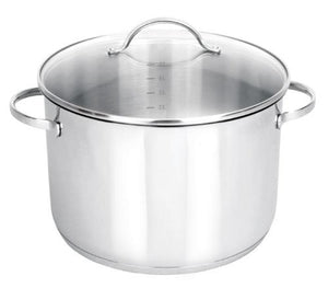 Strauss Tango 17QT Stockpot - Induction Ready, Oven Safe, Dishwasher Safe COOKPOT