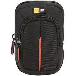 Case Logic - Compact Camera Case with Belt Loop and Extra Zippered Pocket- Black G9x Fits