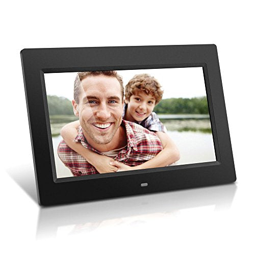 Aluratek ADMPF310F 10-Inch Digital Photo Frame with 4GB Built-In Memory (Black) - Photos, videos, music