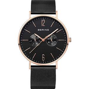 Bering Men's Classic Collection Watch, Black
