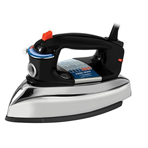 Black & Decker F67E The Classic Iron with Aluminum Soleplate, Steam-surge button 1100 Watts
