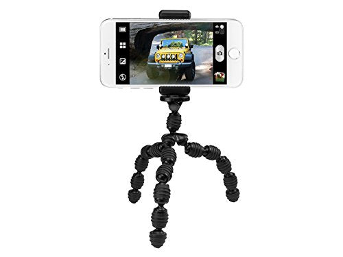 CyonGear Flexi Tripod Stand for Smartphone, Camera, Webcam and Cellphone