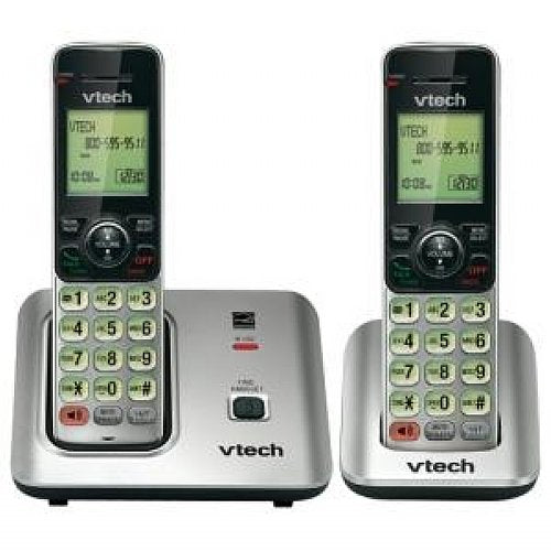Vtech CS66192 DECT 6.0 2-Handset Cordless Telephone (No Answering)