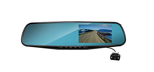 Coby Rearview Mirror Dash Cam