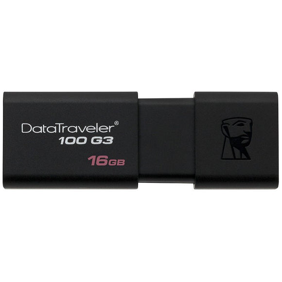 Kingston Digital DT100G3/16GB 16GB 100 G3 USB 3.0 DataTraveler FLASH16GB