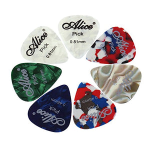 Alice Assorted Guitar picks - 12 Pack