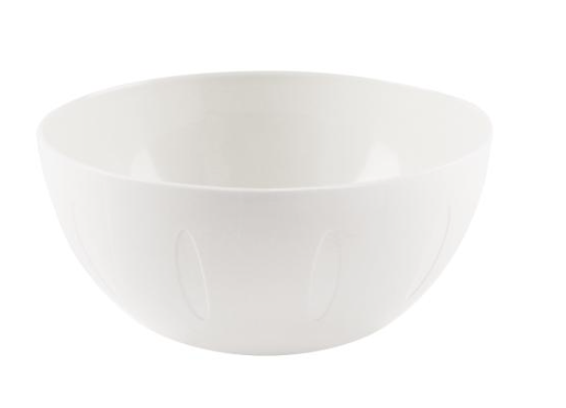 YBM Home 1284 Round Serving Bowl 8-Inch, White