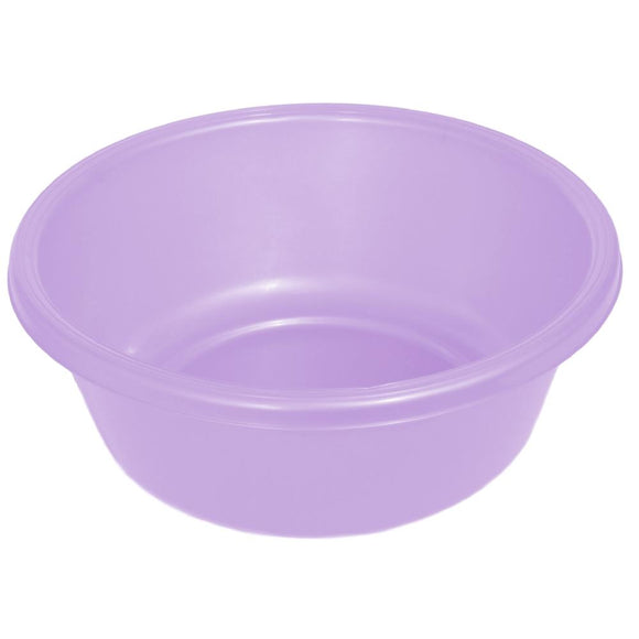 YBM HOME Round Plastic Wash Basin 1148 Purple