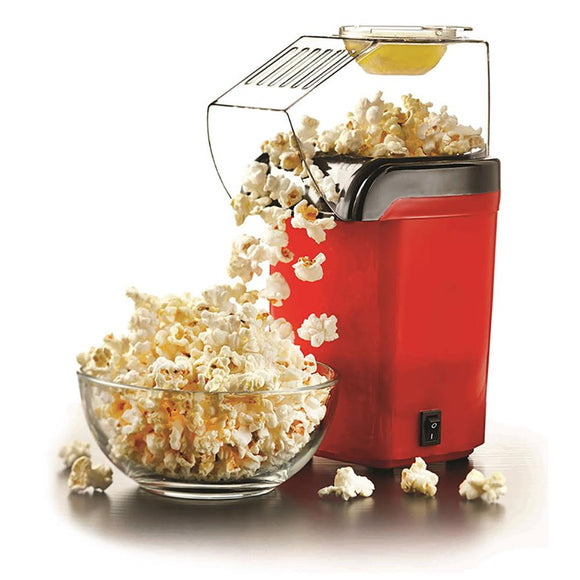 Brentwood PC486 Hot Air Popcorn Maker Makes Up To 8 Cups, Red