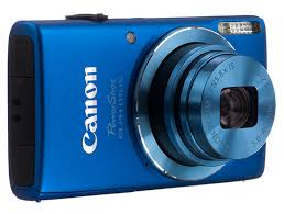 Canon PowerShot Elph 115 IS 16.0 MP Digital Camera with 8x Optical Zoom with a 28mm Wide-Angle Lens and 720p HD Video Recording - Blue - Factory Refurbished