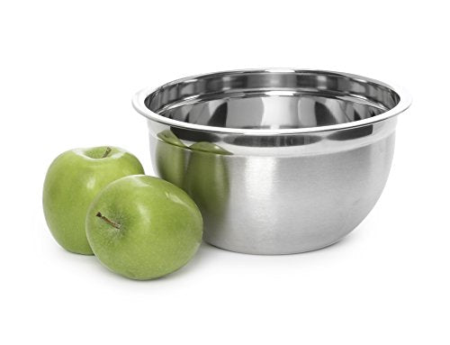 YBM Home Deep Professional Quality Stainless Steel Mixing Bowl For Serving, MIxing Cooking and or Baking (3, 5, 6.5, 10, 14.5, 16 Quart)