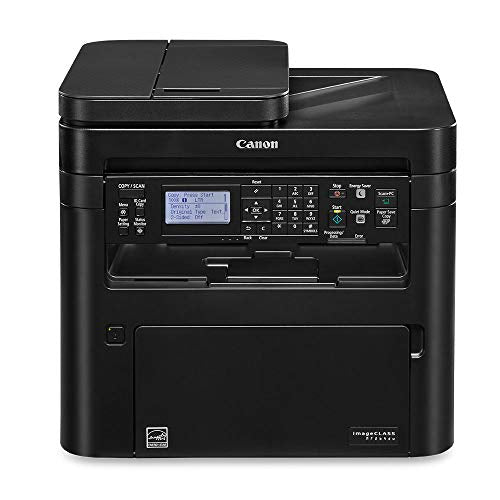 Canon imageCLASS MF264dw (2925C020) Multifunction (No Fax), Wireless Laser Printer, AirPrint, Uses Canon051 Toner, 30 Pages Per Minute and High Yield Toner Option  NO FAX