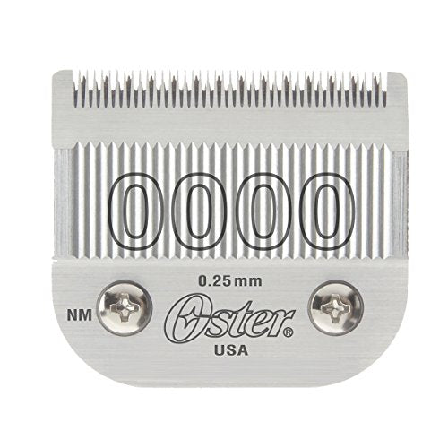 OSTER Cryogen-X Accessory METAL Blade Set for Classic 76 Clipper Size0000 (1/100 inch/0.25 mm) 076918-016-005