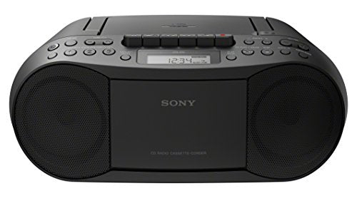 Sony Stereo CFDS70   CD/ MP3 CD/ Cassette Boombox Home Audio Radio - Black