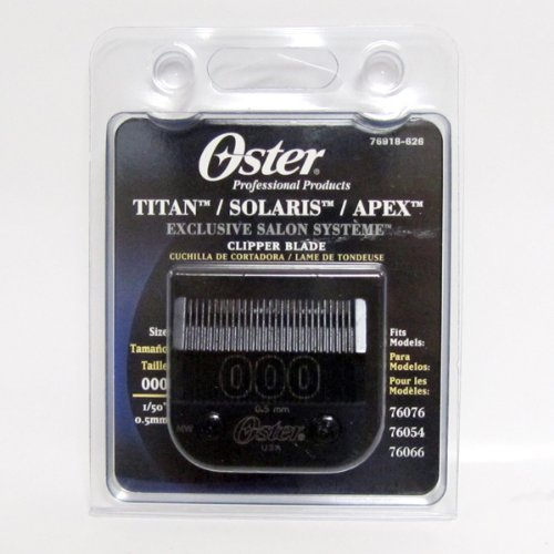 Oster Size000 Metal Clipper Blade for Classic 76 - 0.5mm
