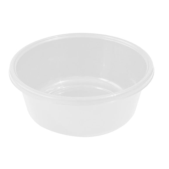 YBM HOME Round Plastic Wash Basin 1148 White