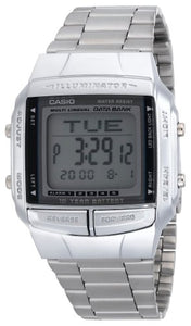 Casio DB360-1AV Men's Digital Databank Watch - Metal Band