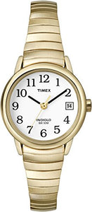 Timex Women s T2H351 Easy Reader Gold-Tone Stainless Steel Expansion Band  Watch db8297202d7