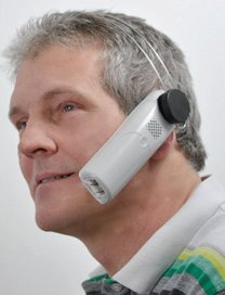 Cell Mate Phone Headset Mobile Hands Free Car Home (HOLDS PHONE OR CELL ON EAR) Velcro