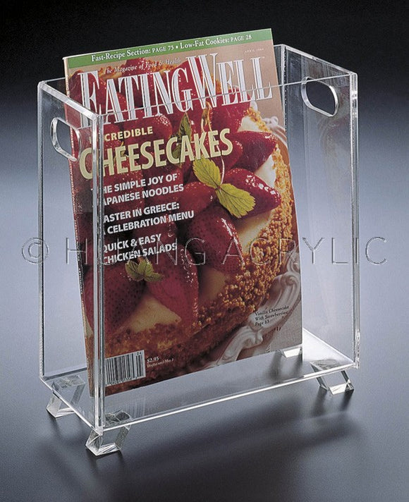 Acrylic Magazine Holder