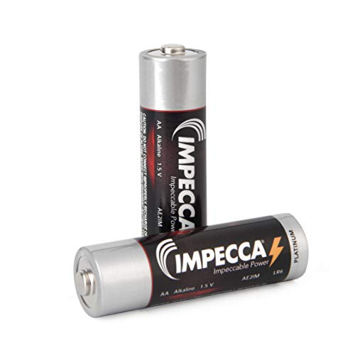IMPECCA AA Batteries, 2 Pack BATTAA2PK