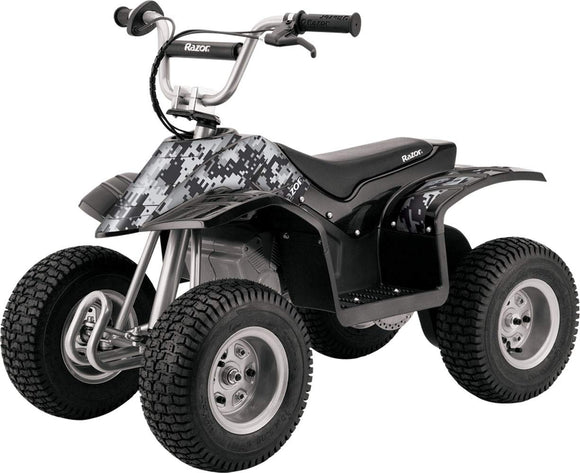 Razor Dirt Quad 24 Volt Ride On Up to 40min continuous use, Ages 8 and up, Up to 120lbs (43
