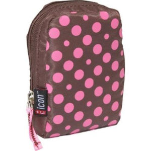 Icon Motions soft case (Brown / Pink Polka dot)
