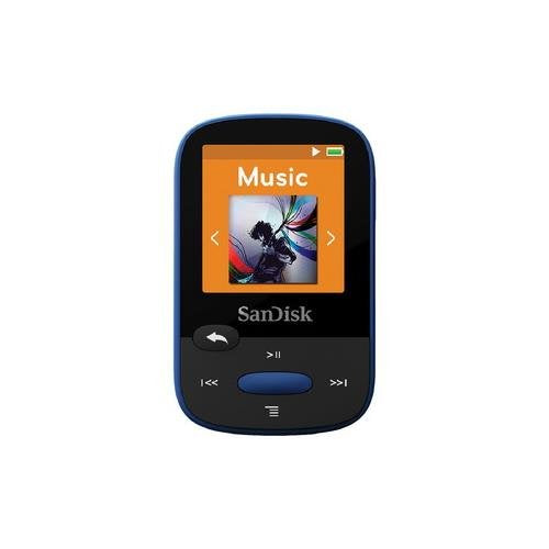 SanDisk Sansa Clip Sport 8GB MP3 Player (Blue)