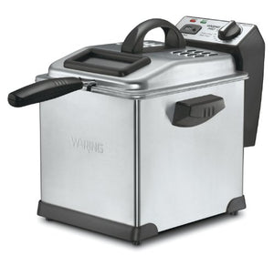 Waring DF175 1800W 3L/12CUP Digital Deep Fryer ELECFRY - 1.7lb food capacity