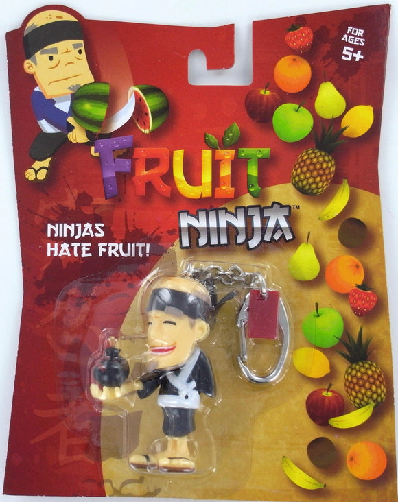 Assorted Fruit Ninja Sensei Blade figurine Fruit Keyring