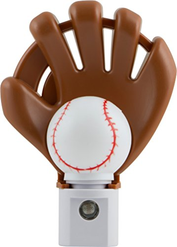 Jasco Products 13365 LED Sports Shade Baseball Night Light with Auto On/Off