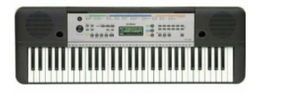 Yamaha YPT255 61-Key Portable Keyboard (Requires PA-130 Adapter)