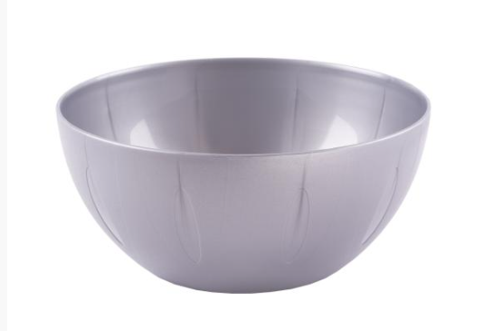 YBM Home 1284 Round Serving Bowl 8-Inch, Grey