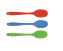 Kadra L. Gourmet Silicone Spatula , Ass. Colors (Red, Green, Blue)