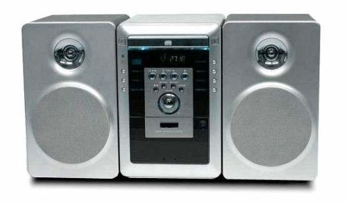 SANYO DC-MM5000 MICRO SHELF SYSTEM DUAL VOLTAGE,AUTO REVERSE CASSETTE,CD,REMOTE CONTROL 20 Watts (NEEDS 220110 ADAPTER)