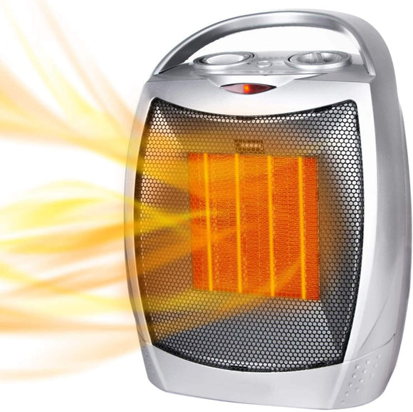 Comfort Zone Ceramic Thermal Heater Fan, with Energy Saver
