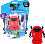 MUKIKIM Tracerbot – Mini Inductive Robot That Follows The Black Line You Draw (Blue, Green, Red)