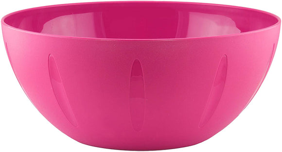 YBM Home Round Mixing Serving Bowl - 10 Inch, Pink