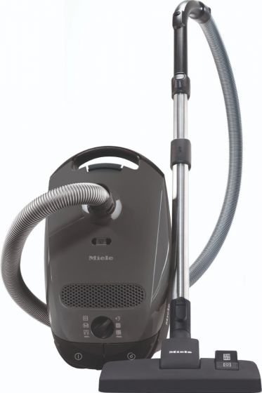 Miele Classic C1 Pure Suction Vacuum, Graphite Grey (GN Bags) WBAGVAC Ideal for hard floors and low pile carpet