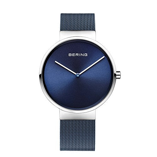 Bering Time 14539-307 Women's Classic Collection Watch, White/Blue