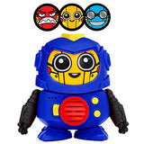 Power Your Fun Tok Tok Voice Changing Robot, (Blue, Red, Yellow)
