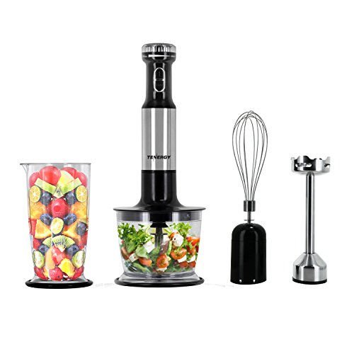 Tenergy SS Immersion Blender, Food Mixer Set