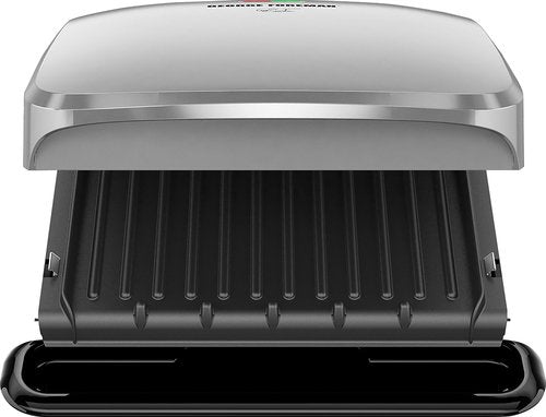 George Foreman 4 Serving Removable Plates Grill with 60