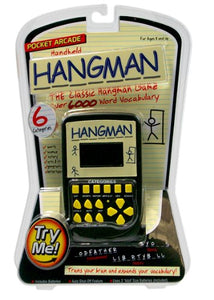 WESTMINSTER Hangman Hand Held Electronic Arcade Game