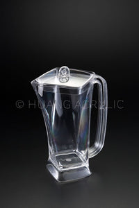 Modern Twist Square Acrylic Pitcher