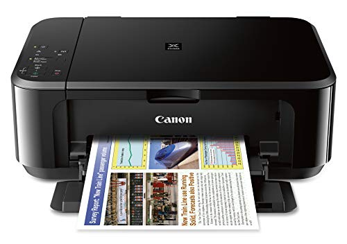 Canon Pixma MG3620 Wireless All-In-One Color Inkjet Printer with Mobile and Tablet Printing, Wifi, NFC, Black Uses PG-240XL, PG-240, PG240XXL, CL-241, CL-241XL