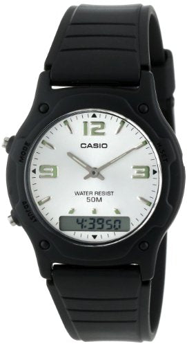 Casio Men's AW49HE-7AV Ana-Digi Dual Time Watch