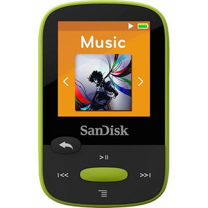 SanDisk Sansa Clip Sport 8GB MP3 Player (Lime)